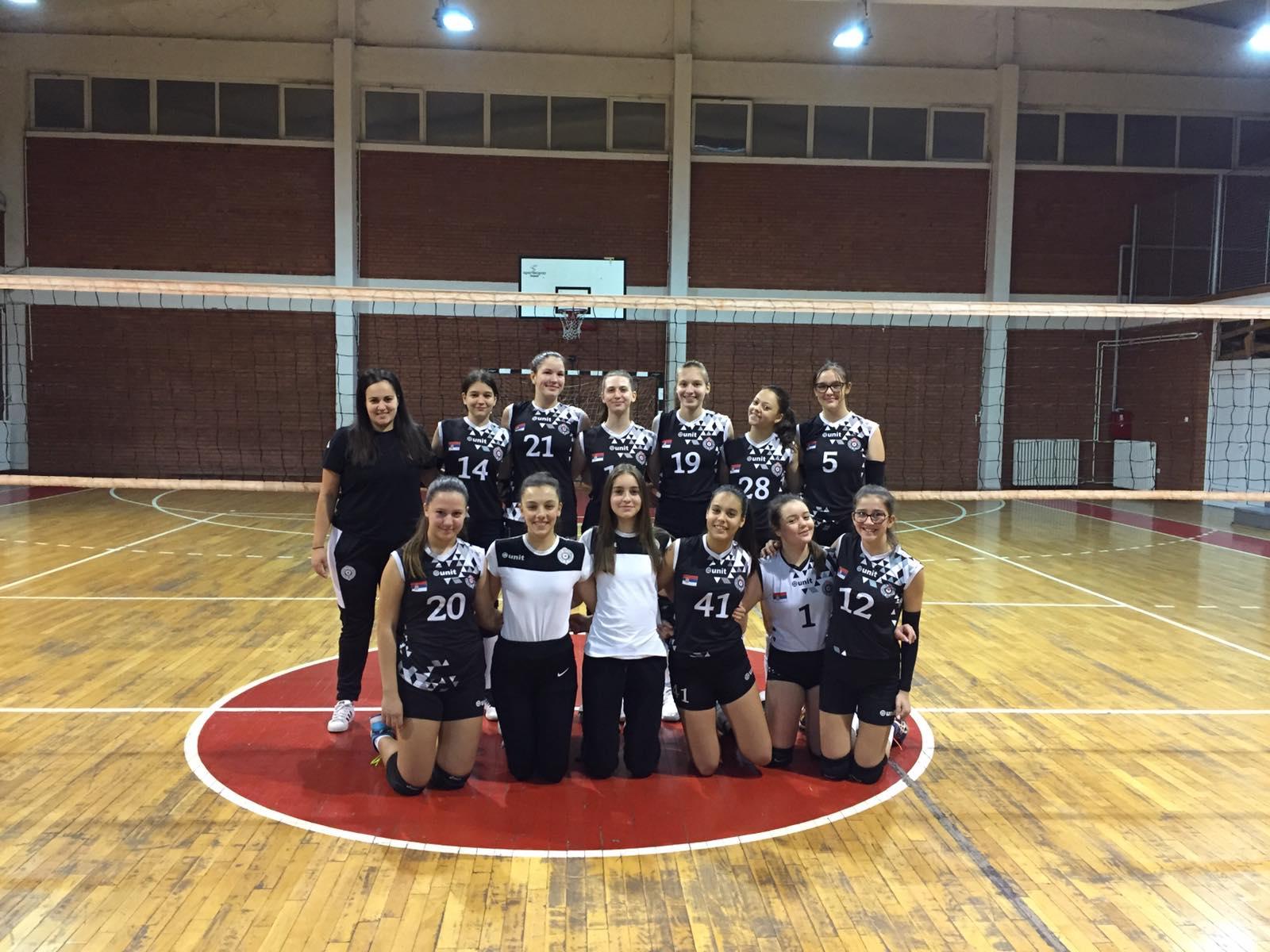 Partizan-sterija-a3-liga-mladje-pionirke