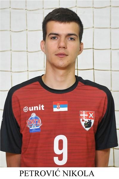 Nikola Petrovic , novi igrac Odbojkaskog kluba Partizan